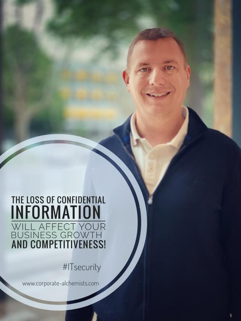 The loss of confidential information will affect your business growth and competitiveness!