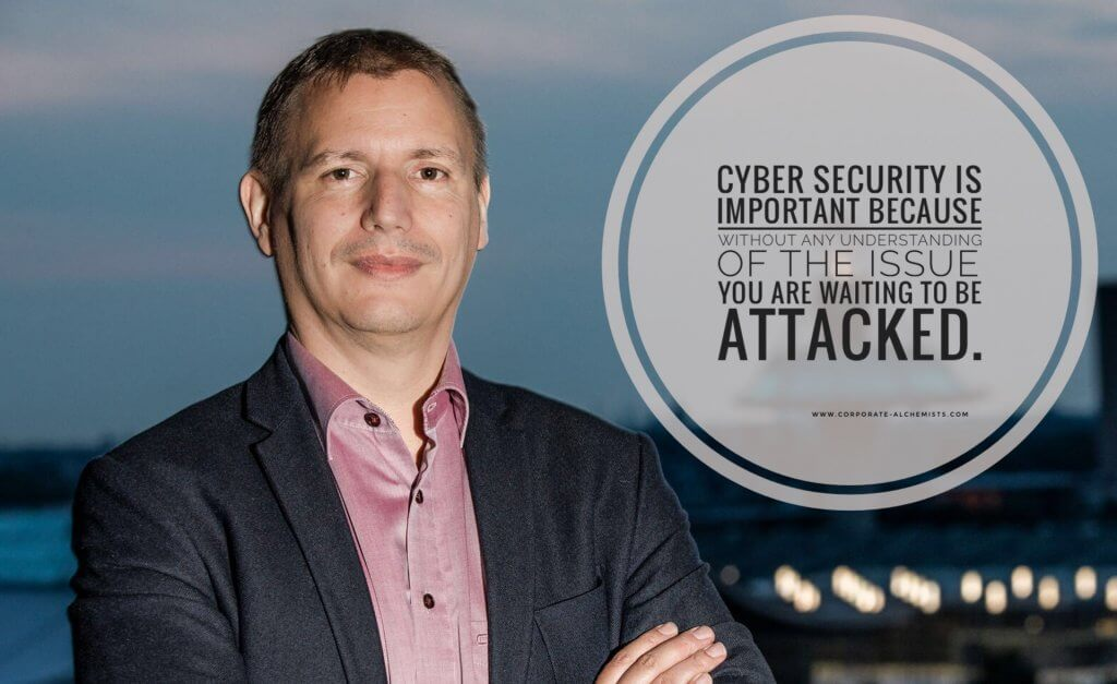 Cyber Security is important because without any understanding of the issue you are waiting to be attacked.